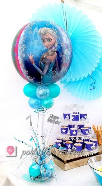 Frozen Movie party balloons for dessert or candy table - your favourite characters - Elsa, Anna, Olaf, Kristoff #frozenmovie #themepartyideas #Frozen #disney #childrenpartythemes #frozenmovieballoons #kidspartyideas #kidspartydecorations #kidspartyballoons