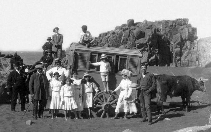 Vacaciones en Chile hace más de 100 años