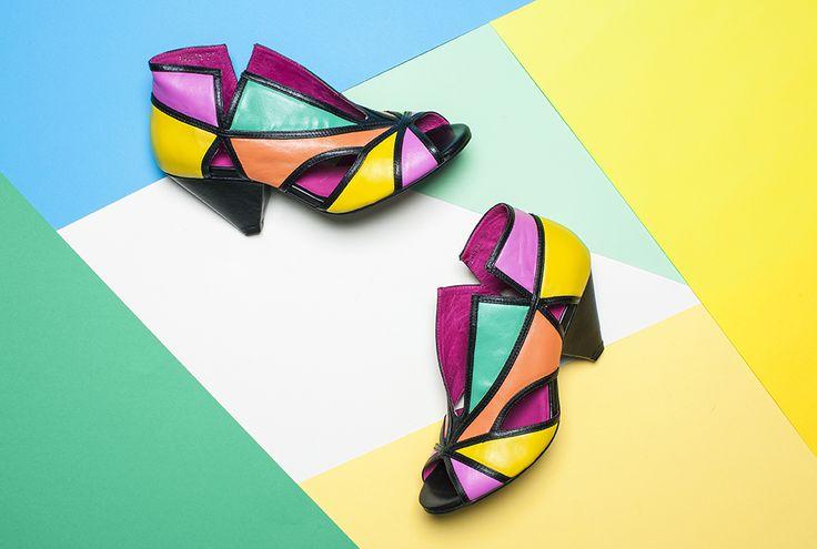 Ovelia by Django and Juliette. http://www.cinori.com.au/ovelia/w1/i1165881/ #cinori #cinorishoes #colorfulshoes #colorfulshoe #colorfulheel #colorfulheels #djangoandjuliette #geometricpattern #geometricpatterns
