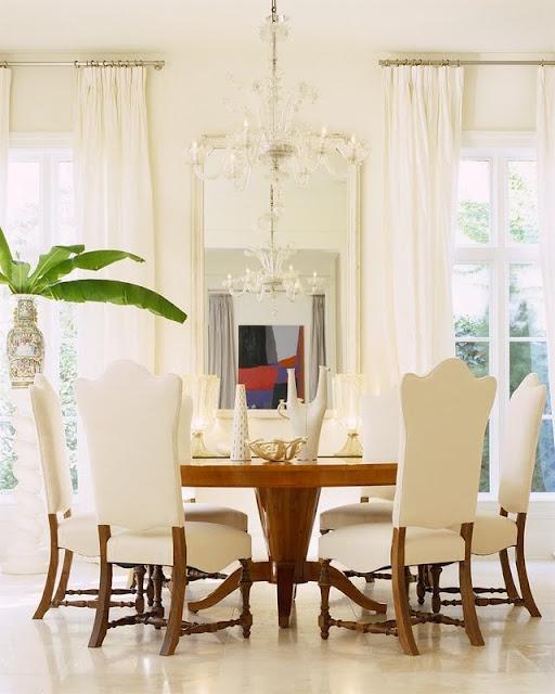 Glamorous Dining Rooms: Jan Showers - Glamorous.