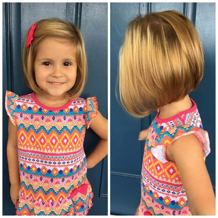 Haarschnitt für kleines Mädchen: 40 frische und moderne Ideen