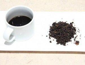 Black sesame goji berry tea