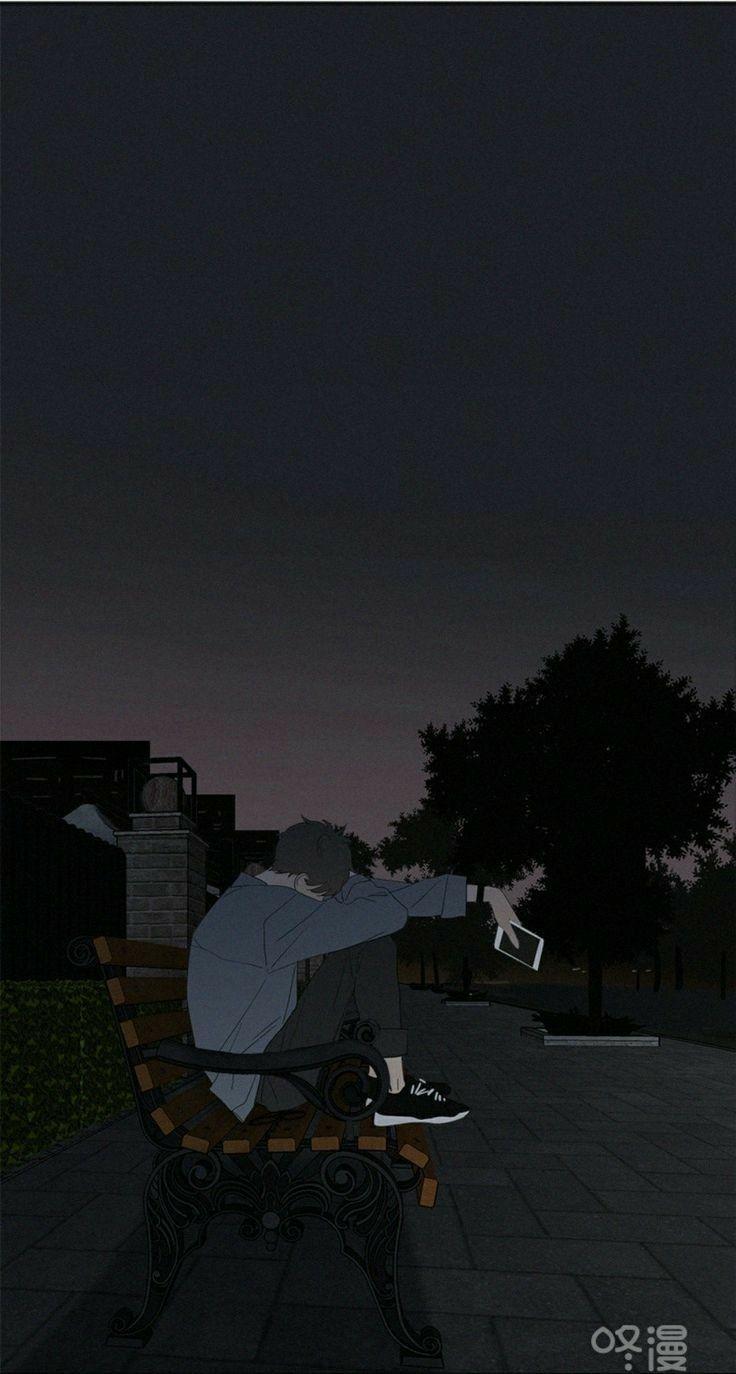 Pin Oleh Remi Big Di Wallpaper Pemandangan Anime Pemandangan Seni Gelap
