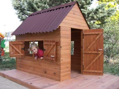une cabane pour mes enfants cabanes jeux ext rieurs. Black Bedroom Furniture Sets. Home Design Ideas