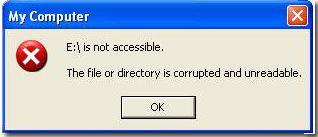 DriveIsNotAccesibleTheFileOrDirectoryIsCorruptedAndUnreadable-solution-how to-fix-repair-flash-drive-error-usb