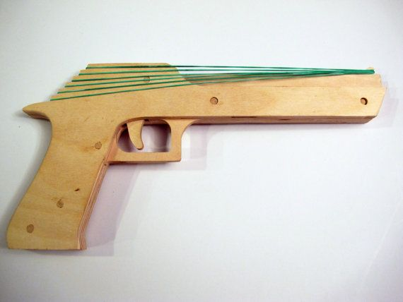 free rubber band gun plans pdf