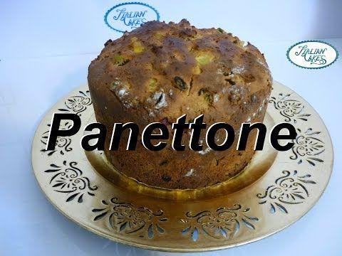 ▶ Ricetta Panettone tradizionale (italian sweet recipe) by ItalianCakes - YouTube