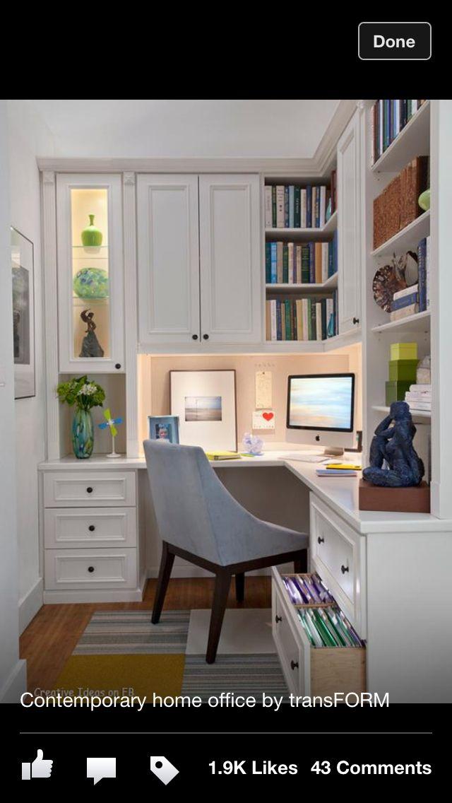 Estudio para un espacio pequeño