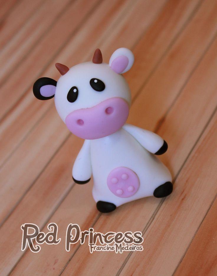 Toyart vaca by theredprincess.deviantart.com on @deviantART