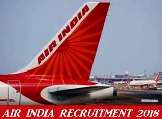 U.A.E and Middle East Jobs: Air India recruitment 2018 notification announced