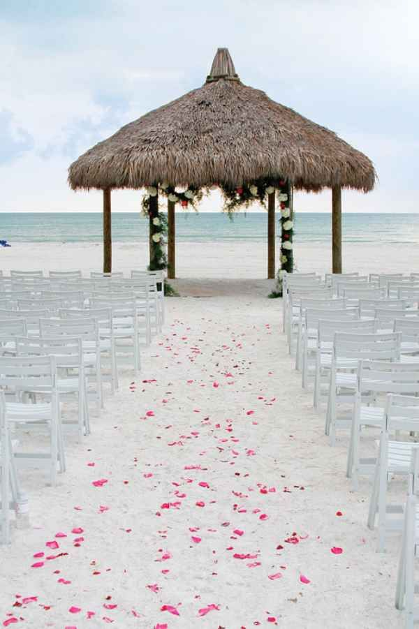 10 Wedding Venues with Private Beaches | Beach Wedding Locations | Best Places for a Beach Wedding | Marco Island Marriott Beach Resort