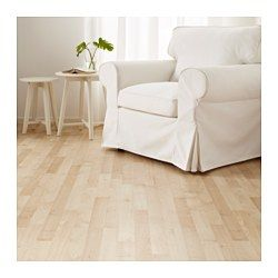IKEA - SLÄTTEN, Laminated flooring, , Flooring with click system is easy to lay; no adhesive required.