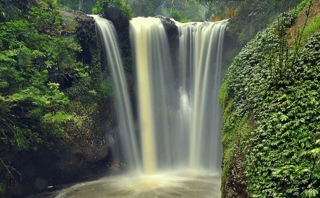 Maribaya water fall, west Java Indonesia
