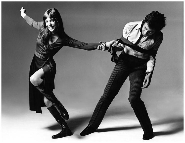 """Serge Gainsbourg & Jane Birkin by Bert Stern 1970 """"Qui ne s'est jamais laissé enchaîner Ne saura jamais ce qu'est la liberté"""" — Serge Gainsbourg"""