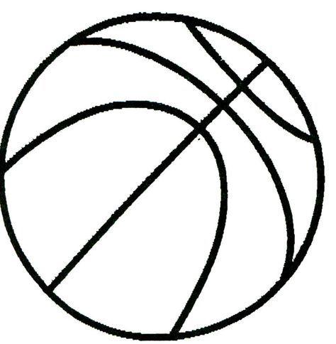 Printable basketball drawing. | crafty | Basketball drawings, Basketball crafts, Basketball ...