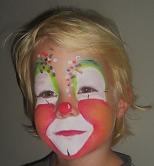 Confetti clowntje.