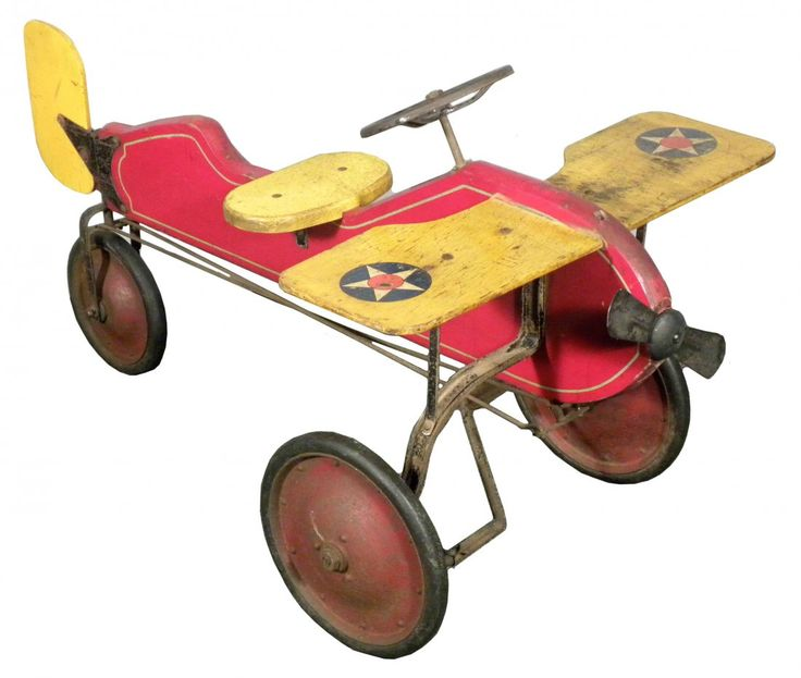 Antique Airplane Tricycle : Top ideas about vintage antique toys on pinterest