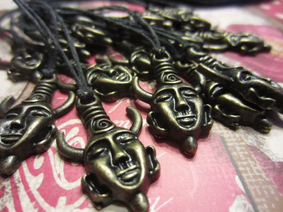 Dean Winchester Necklace / Samulet by AstridRains on Etsy, $4.00