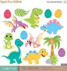 Resultado de imagen para free cute dinosaur clipart
