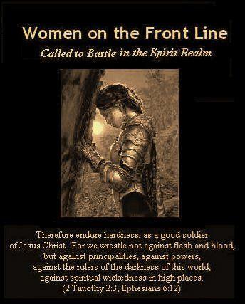 Women as Prayer Warriors…putting on the
