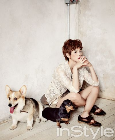 Yoon Seung-ah // InStyle Korea // July 2013