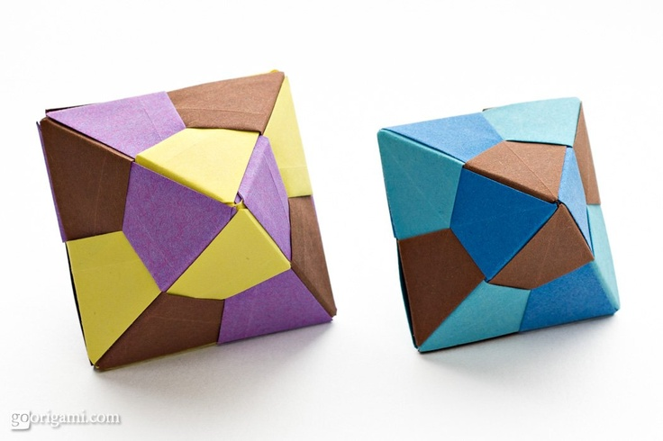 Origami Sonobe Cube Variations
