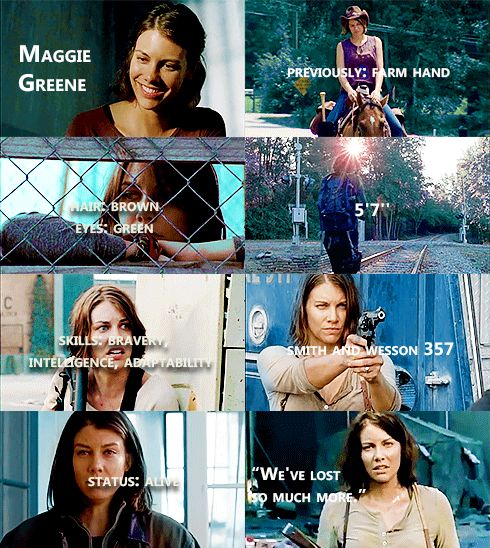 Knowing About Maggie Greene #TWD