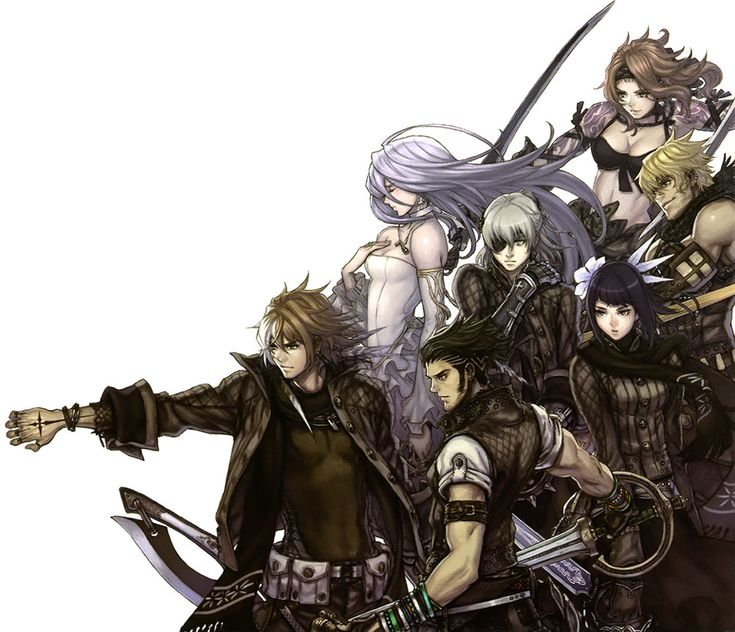 Character Cast - Pictures & Characters Art - The Last Story