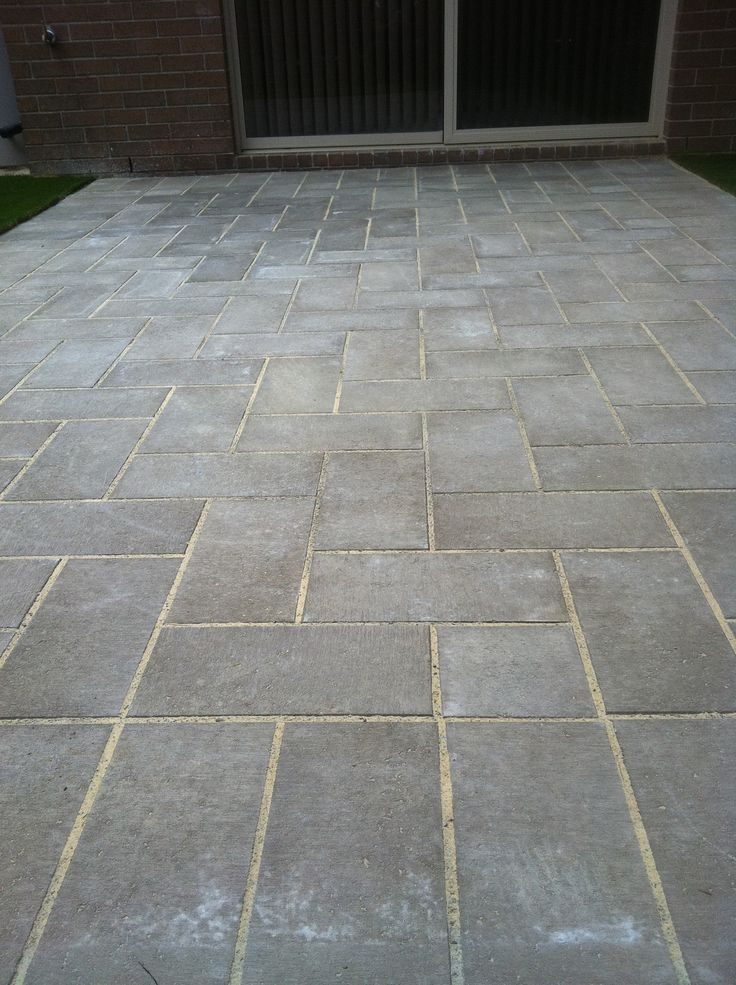 Www Pavingcanberra Com Paving Courtyard Synthetic Turf
