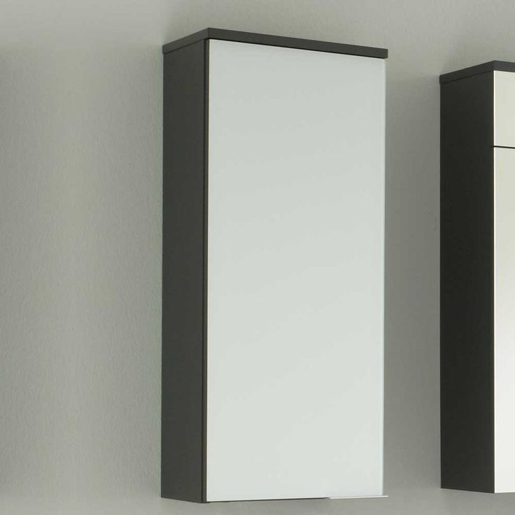 Badezimmer Hängeschrank In Weiß Anthrazit Jetzt Bestellen Unter: ...