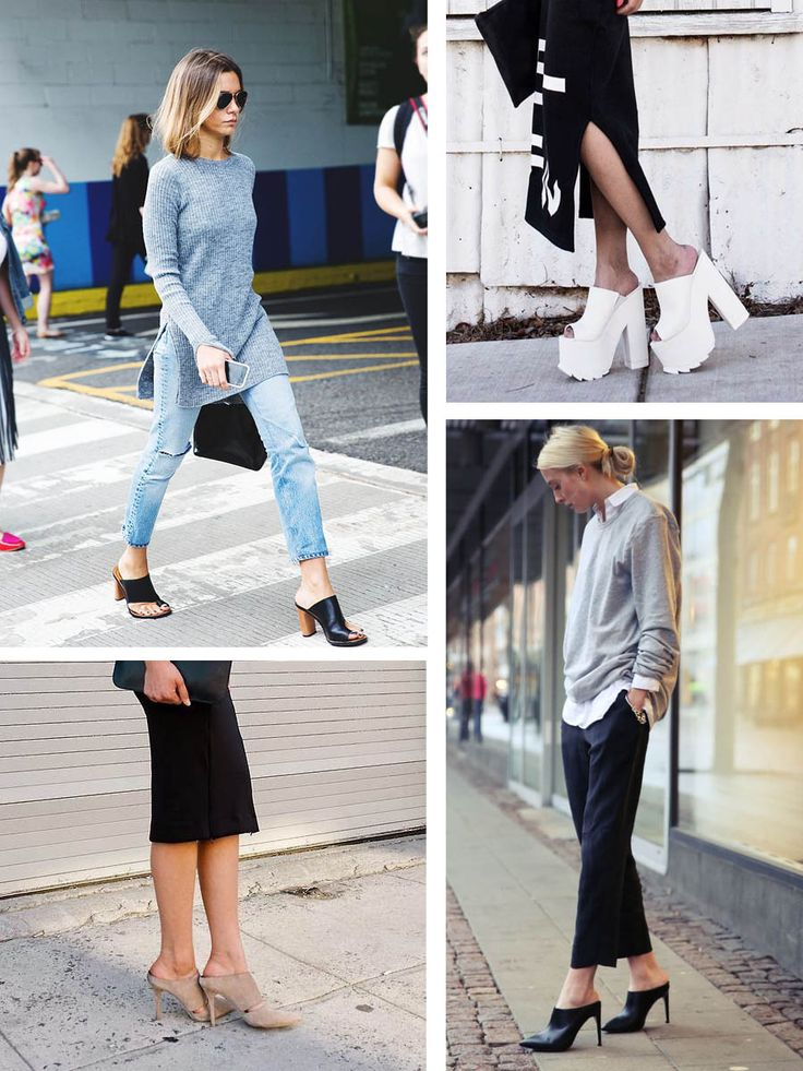 Current fashion trends 2016: The Wild Wild West has brought back a number of shoe trends from the '80s & '90s, such as summer mules. Designers focus on...