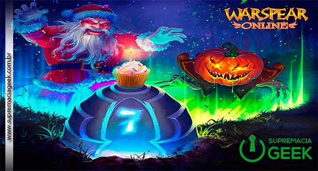 Warspear Online faz aniversário: 7 anos de guerra. A AIGRIND anuncia a Atualização 4.11 para o popular MMORPG Warspear Online. Muitas novidades chegam no sétimo aniversário do game! A celebração vai durar até 25 de junho. ____________________________ #Cinema #Entretenimento #GeekNews #Nerd #Geek #CulturaPop #MundoGeek #NoticiasNerd #Games #Jogos WaspearOnline #MMORPG #SupremaciaGeek