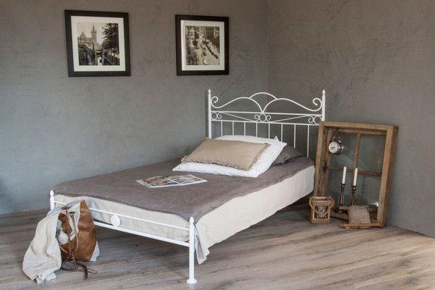Metallbett Weiss 120 200 Lovely Betten Vintage Flair Metallbett 120 200 In Weiss Ein Nate Berkus