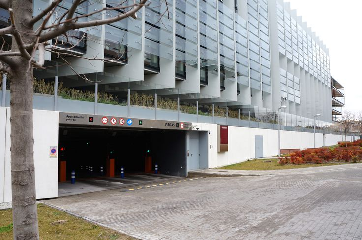 Señalización parking Sede Corporativa Repsol Madrid