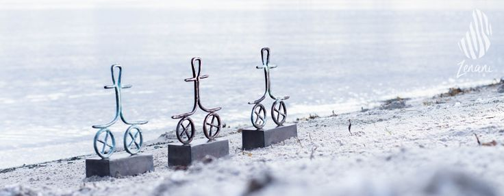 art photography, sculpture on the beach, Tina Hee, product photography in natural surroundings