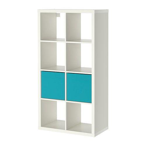 KALLAX / DRÖNA Shelving unit with 2 inserts IKEA