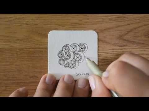 So zeichne und schattiere ich das Zentangle® Muster Kiasom von Annette Plaga-Lodde aka LorettA. Weitere Muster gibt es auf http://bunte-galerie.de/zentangle-...