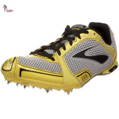 Brooks , Chaussures d'athlétisme pour homme Noir - - Noir, 8 US EU