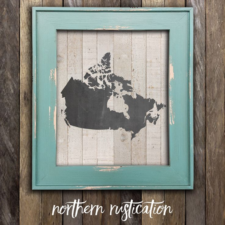 Canada Map Print - Chalkboard Art - Canadian Poster Art - Cabin Decor - Canadiana - Made in Canada Canadian Sellers - Canada Day Decor (11.00 USD) by NorthernRustication