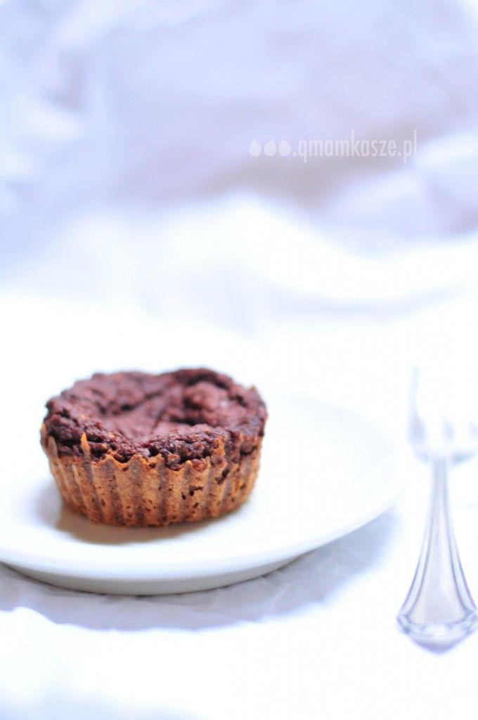 babeczka jaglano-czekoladowa
