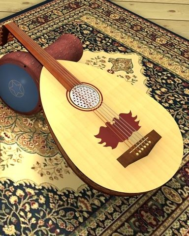 May the Arabic oud & Arabic drum be used widely to praise the Name of Yessua al-Massiah.
