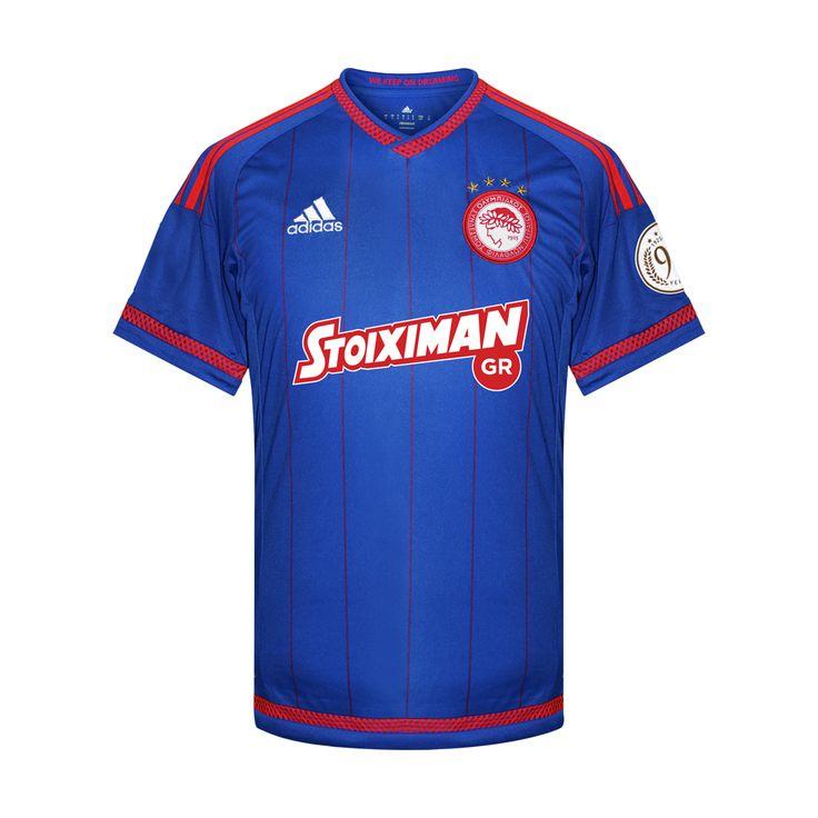 Olympiakos 2015/16 away shirt