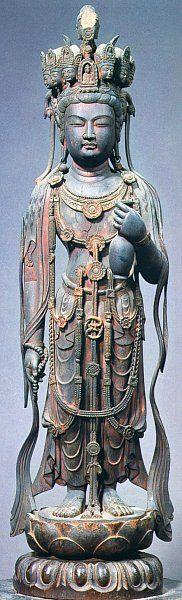 Nine (9) Headed Kannon (Kumen Kannon)