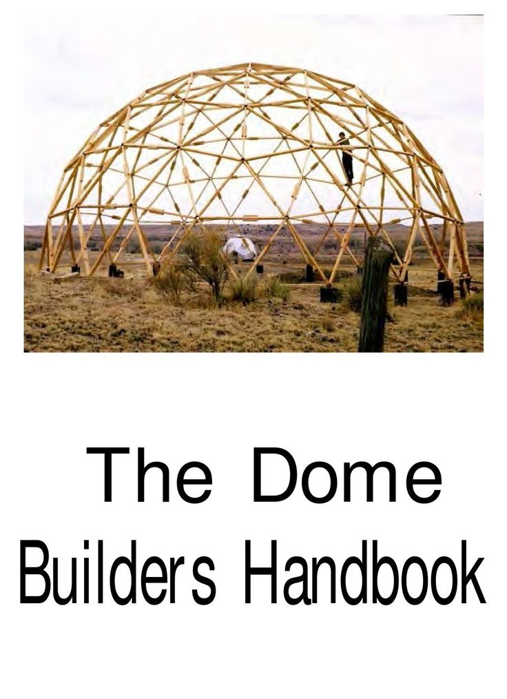 the dome builders handbook v xthus. Black Bedroom Furniture Sets. Home Design Ideas