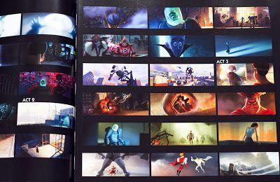 Living Lines Library: Megamind (2010) - Concept Art, Color Keys