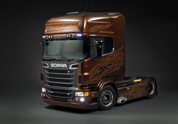 Scania Truck Art Wallpaper Wide - Scania V8 R730 http://lovelyrides.com/scania-v8-r730/