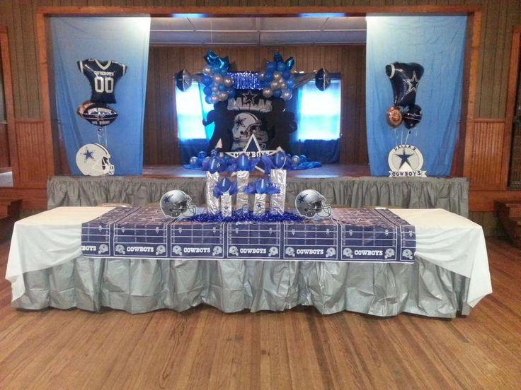 Dallas Cowboys/Football Birthday Party Ideas