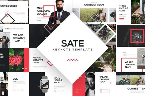 SATE Keynote Template by Angkalimabelas on @creativemarket