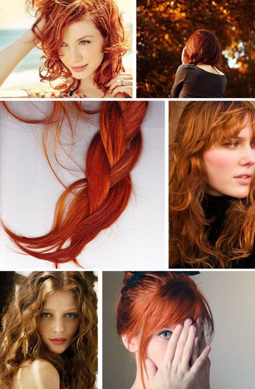 Love some red headsHair Colors, Red Colors, Red Hair, Hair Style, Redheads, Redhair, Brown Hair, Red Head, Hair Long