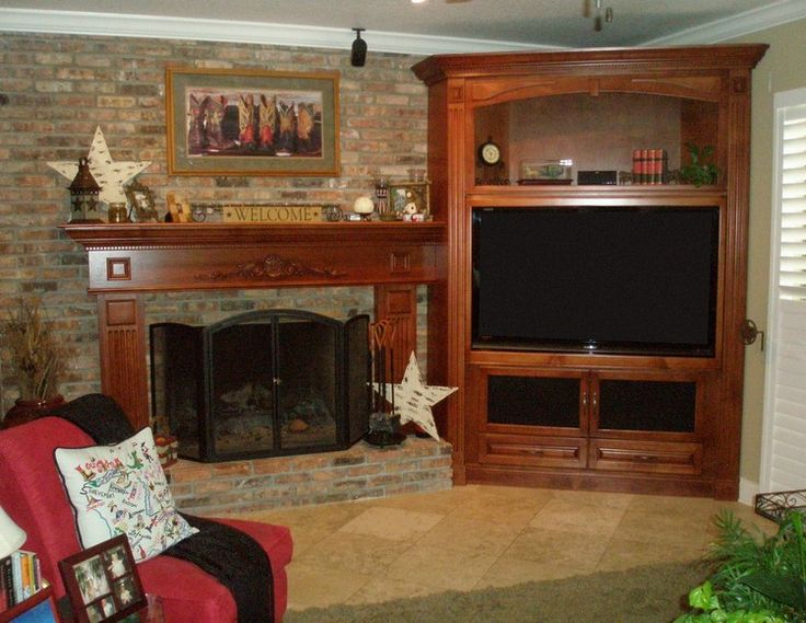 corner entertainment center for flat screen pictures | Custom entertainment centers and wall units Orlando, Florida ...